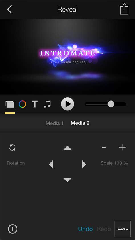 imovie intro templates intromate intro maker for imovie