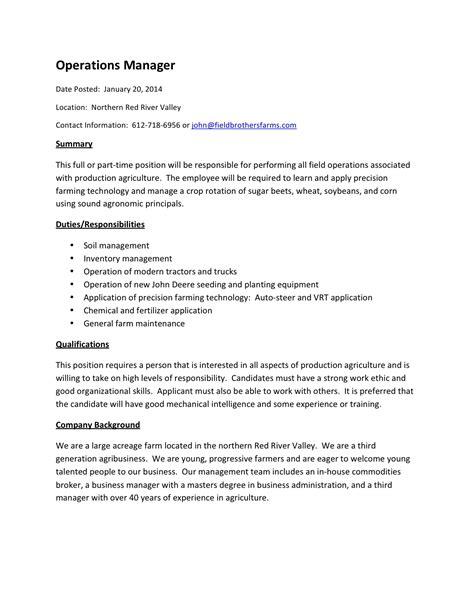 Operations Coordinator Description by Social Work Employment Agencies In Australia Operations