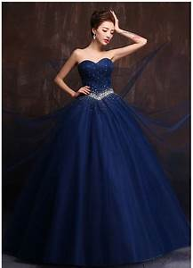 custom made color and size vestidos de noiva royal blue With wedding dresses with color blue