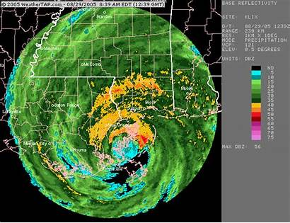 Katrina Hurricane Radar Doppler Tornado Orleans Hurricanes