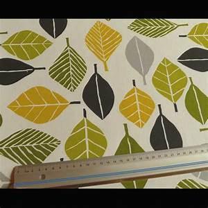 Baumwollstoff Meterware Günstig : dekostoff in leuchtendem gr n gelb stoffe g nstig ~ Markanthonyermac.com Haus und Dekorationen