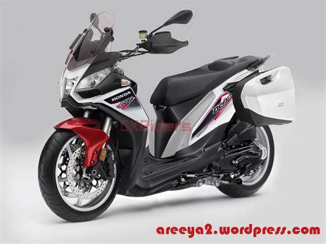 Honda Beat Modif by Konsep Modifikasi Honda Beat Fi Touring Caponord Cxrider