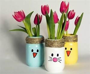 idee activite manuelle pour petit atlubcom With affiche chambre bébé avec vase à fleurs en verre