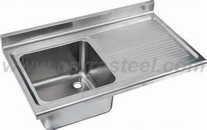 Industrie Waschbecken Edelstahl : edelstahl industrie waschbecken mit arbeitsplatte ~ Michelbontemps.com Haus und Dekorationen