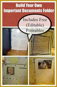 create an important documents grab and go binder free With important documents binder printables