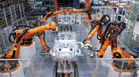 global industrial robots  automotive industry market