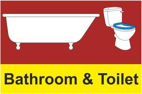 dementia bathroom toilet sign