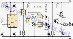 Video Switch For Intercom System Cd4066  Circuit Diagram World