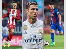 Top 20 most valuable footballers in Europe Ronaldo misses