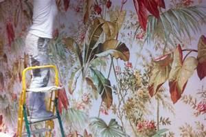 Tissu Mural Tendu : tissus tendus froid plafond et murs de maison en gard et vaucluse ~ Nature-et-papiers.com Idées de Décoration