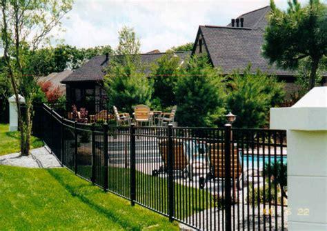 Adjustable Black Vinyl Fence — Peiranos Fences Remove