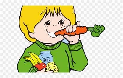 Snack Eat Clipart Well Healthy Child Preschool