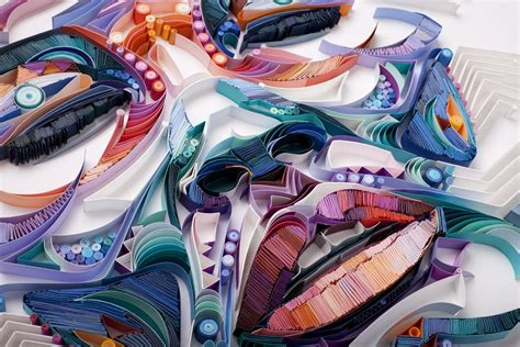 Stunning Quilling Designs By Yulia Brodskaya : Stunning New Paper Quilling Portraits By Yulia Brodskaya