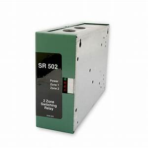 Taco Sr502 Two Zone Pump Switching Relay With Priority