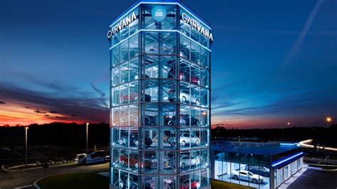 Buy A Used Car Online And Pick It Up At This 8story Tall