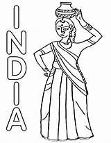 India Coloring Pages India9 sketch template