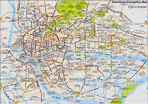 Guangzhou Maps  Downtown Layout  Metro  Attractions