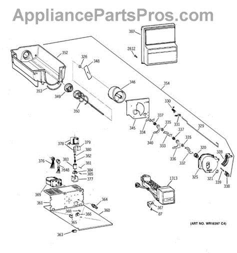 parts  ge zisbdca dispenser parts appliancepartsproscom