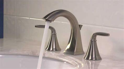 installing    widespread bathroom faucet