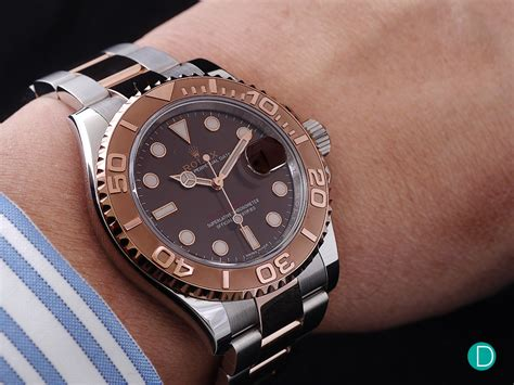 Review Rolex Yachtmaster 40 Everose Rolesor Ref 116621