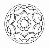 Mandala Kleurplaten Kleurplaat Kaleidoscope Coloring Voor Tekening Kleurplatenpagina Een Books Last Boordevol Coole sketch template