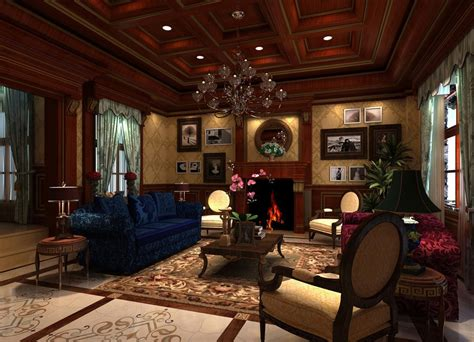 craftsman style homes interior living room wooden ceiling design 3d house