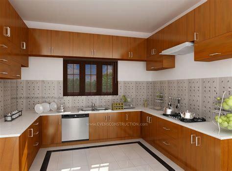 design interior kitchen home kerala modern house kitchen