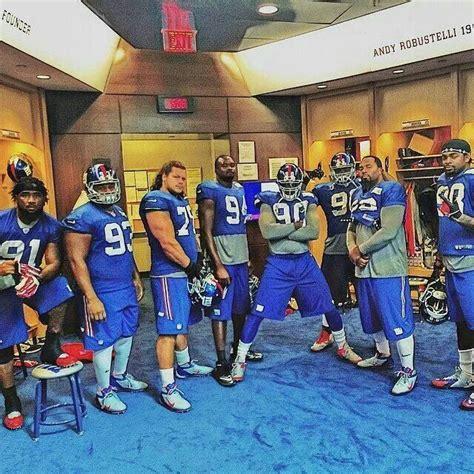 The D-Line | Ny giants football, Giants football, New york ...