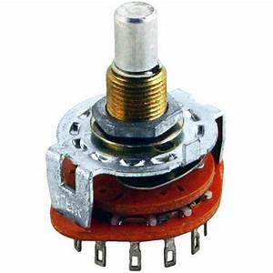 Alpha 3 Position  3 Pole Rotary Switch  Make Before Break