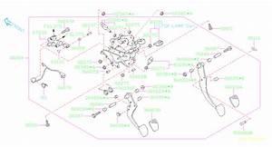 2017 Subaru Outback Stopper Pedal  A  System  Brake