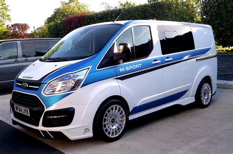 mash jeep decals a wrc flavored ford transit van looks as mental as you