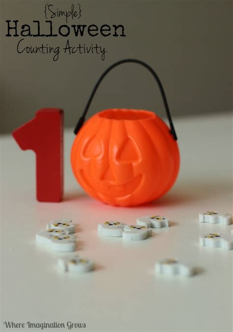 math counting with ghosts where 469 | Halloween math games for preschool counting activity