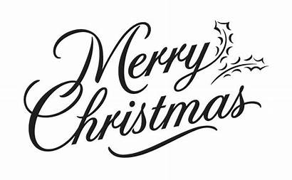 Merry Christmas Clipart Writing Cursive Fancy Lettering