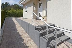 L Steine Streichen : garageneinfahrt am hang mg work und auch fesselnd umbau ~ Frokenaadalensverden.com Haus und Dekorationen