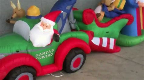 funny toyreviews christmas funny animated inflatables