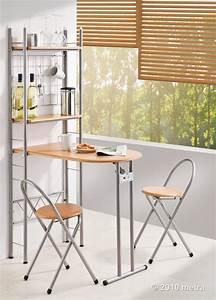 Küchentisch Mit Stühlen : k chentisch mit regal und 2 st hlen klappbar bar holz ebay ~ Michelbontemps.com Haus und Dekorationen