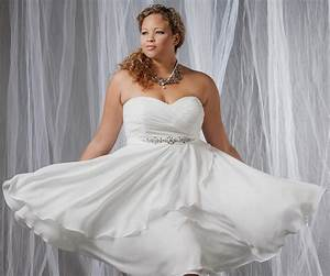Affordable Wedding Dresses For Plus Size Women 2018 Plus