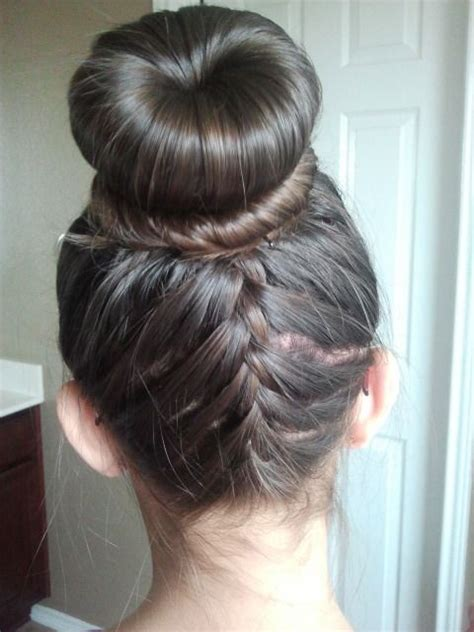 Ballet Hairstyles For by Ballet Bun With Braids Search Hair Bun