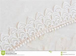 Lace And Pearls Vintage Background Stock Image - Image ...