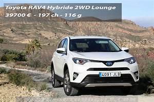 Nouveau Rav4 Hybride : essai nouveau toyota rav4 hybride puissant mais sans bonus ~ Maxctalentgroup.com Avis de Voitures