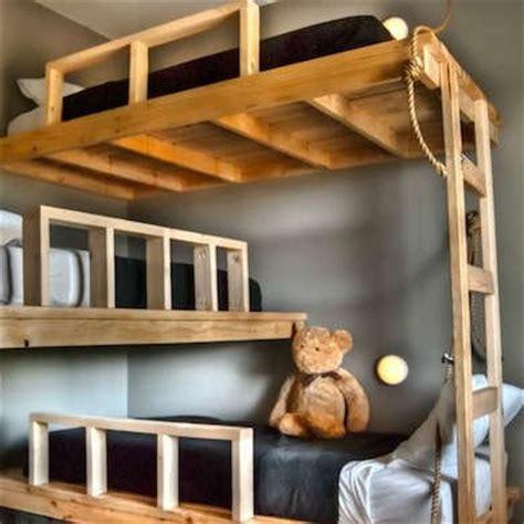bunk bed ideas  designs worth  climb bob vila