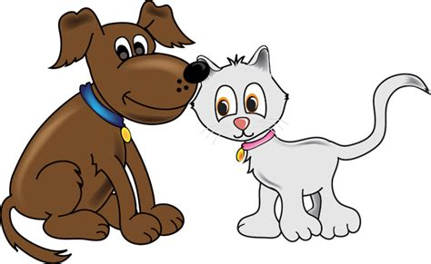 cartoon pictures  dogs  cats   clip