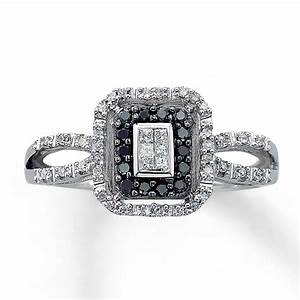 black and white diamond wedding ring black diamond wedding With white diamond wedding ring