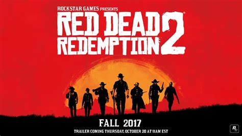Red Dead Redemption 2 release date confirmed for Xbox One ...