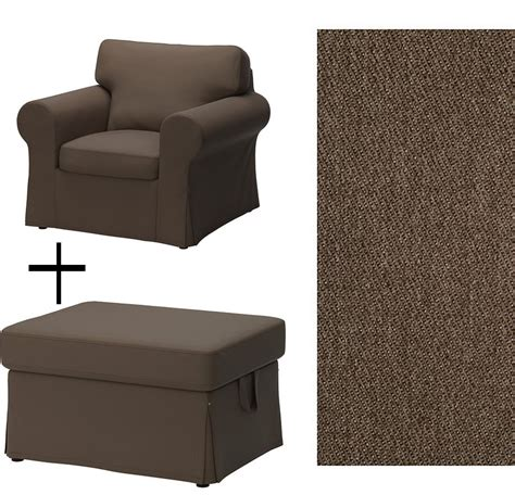chair and ottoman covers ikea ektorp armchair and footstool covers slipcovers
