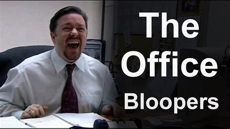The Office (uk)  Bloopers Youtube