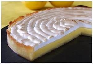 Recette Tarte Citron Meringuée Facile : la tarte au citron de meme mounic la cachina ~ Nature-et-papiers.com Idées de Décoration