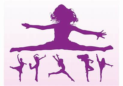 Dancing Silhouette Silhouettes Vector Dance Pack Dancer