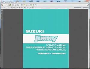 Suzuki Jimny  Sn413-sn415d  - Service Manual