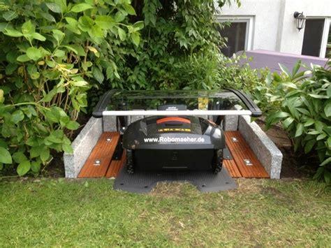 automower garage neu die abdeckung fuer ihren maehroboter